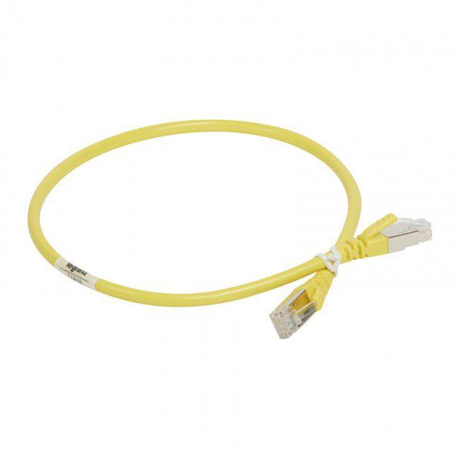 آشنایی با کابل شبکه CAT7 لگراند SFTP تست فلوک طول 500 متر